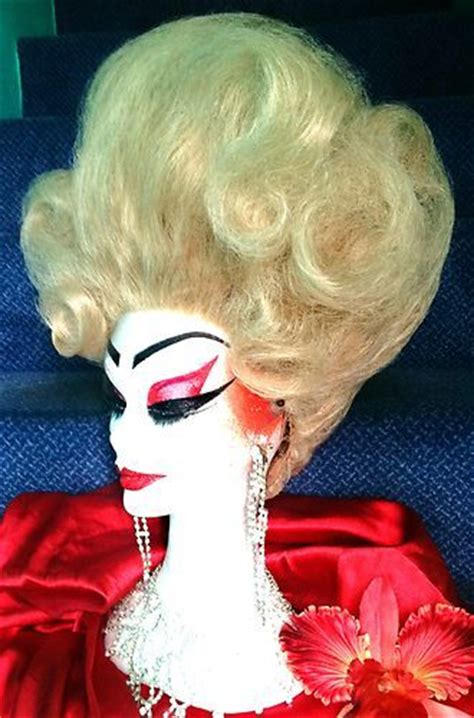 drag updo hair stunning hand styled honey blonde lace front updo drag