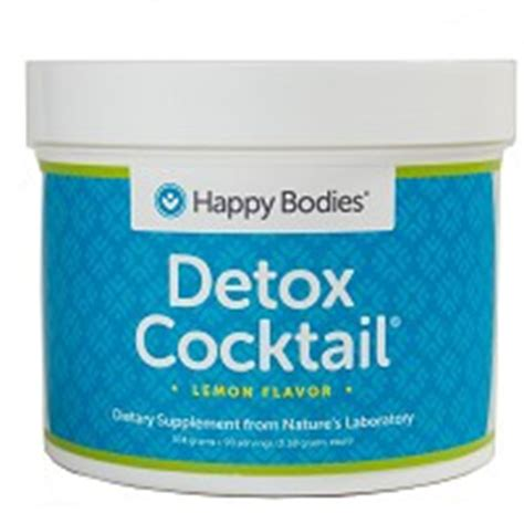 Happy Bodies Detox Cocktail detox cocktail mix 30 individual serving packets