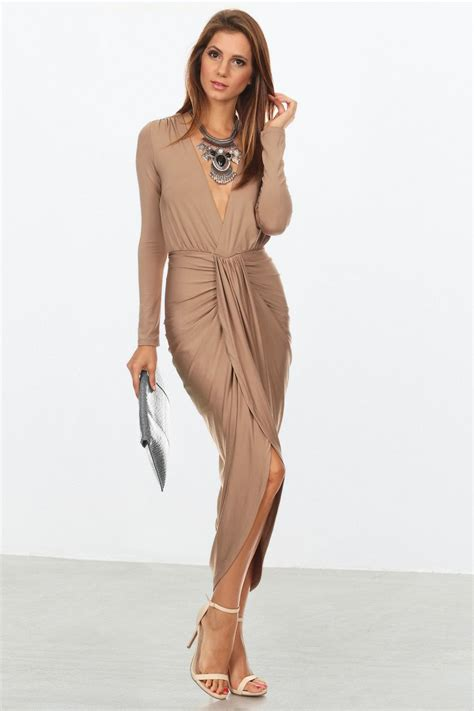 draped fashion summer spring wear sexy draped dresses for women