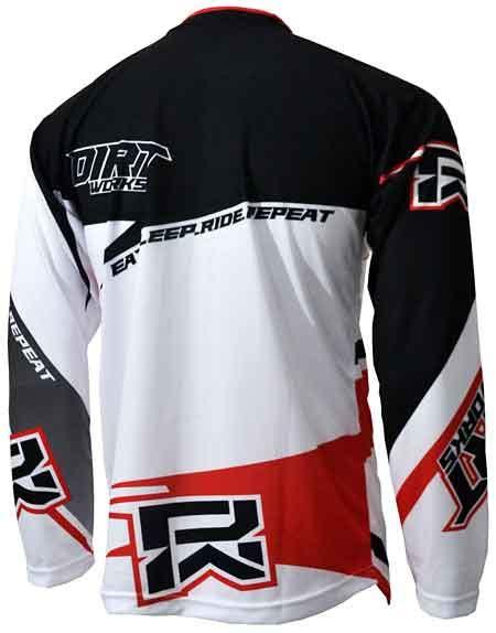 Kaos Braap Braap Brap Racer Racing Keren Pria Wanita Wkm01 jersey sepeda dirtworks braap putih merah jual baju