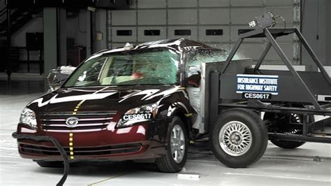 impala avalon are top large cars in side crash test