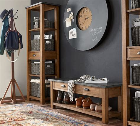 Entryway Set Channing 3 Bench Tower Entryway Set Pottery Barn