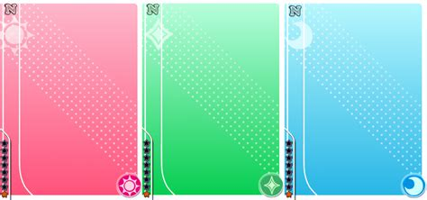 live card template live normal blank cards by blackstar shine on deviantart