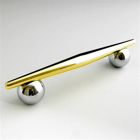 chrome and brass cabinet pulls liberty retro modern cabinet handle polished chrome and