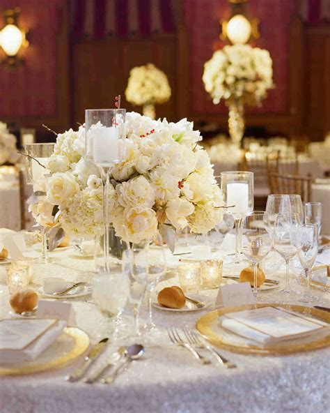 Wedding Reception Flower Centerpiece by 84 Candle Centerpieces That Will Light Up Your Reception