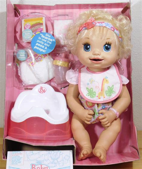Baby Doll With Potty Chair by Learn To Potty Chair 2007 Baby Alive Doll Magnetic Bottle