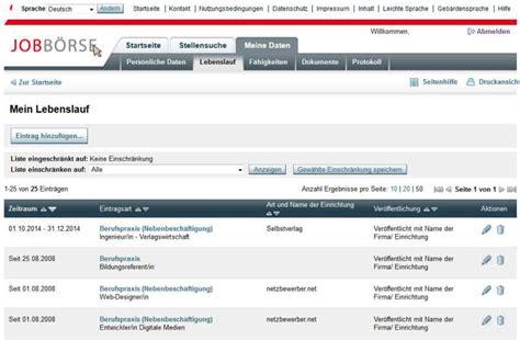 Lebenslauf Muster Jobborse Bewerbung Arbeitsvermittler Berufseinsteiger Kenntnisse Suchen Lebenslauf Muster Fr 2015