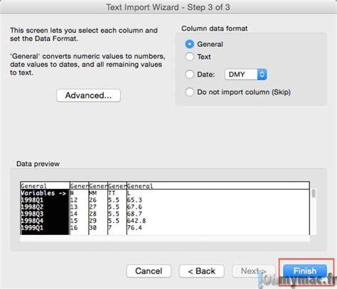 format fichier csv excel mac ouvrir un fichier csv ohmymac