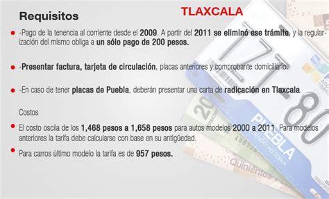 cuanto se pagara tenencia 2016 en tlaxcala requisitos para emplacar en tlaxcala 2016 requisitos para