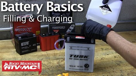 Motorrad Batterie Laden by Battery Basics Activation Filling Charging A