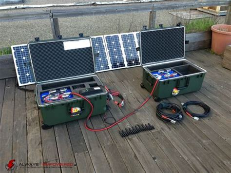ultimate tactical solar power generator kit solar power