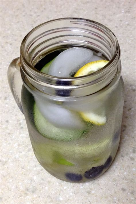 Detox Water Lemon Lime Cucumber by Cucumber Lime Blueberry Infused Water A Merry