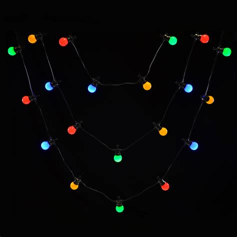 20 lv static outdoor led christmas party lights connecting