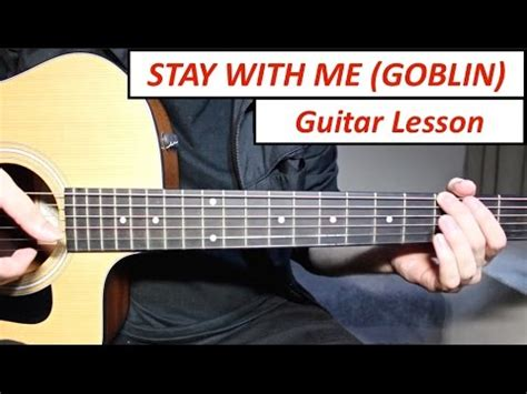 tutorial gitar let it go stay with me chanyeol punch goblin ost guitar