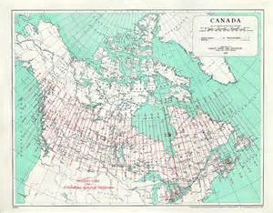 map of canada with latitude converting between utm mtm and lat canadian gis