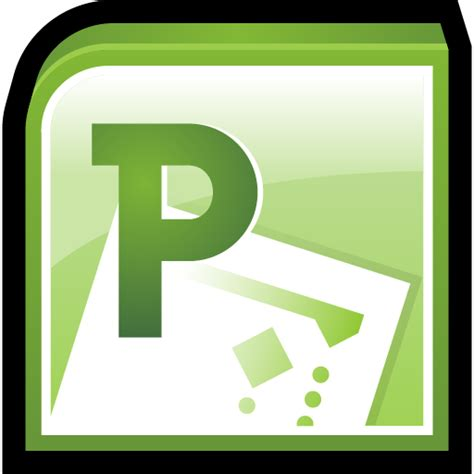Microsoft Office Icon by Microsoft Office Project Icon Office 2010 Iconset