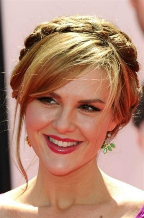 brade bangs away from face milkmaid braid hairstyles for women hairstyle for women