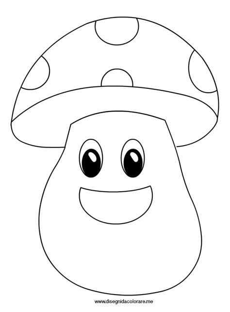 clipart per bambini fungo sagoma per lavoretti disegni da colorare