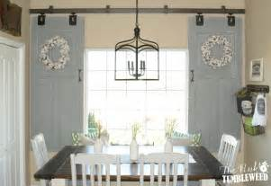 barn door window sliding barn door window treatment the pink tumbleweed