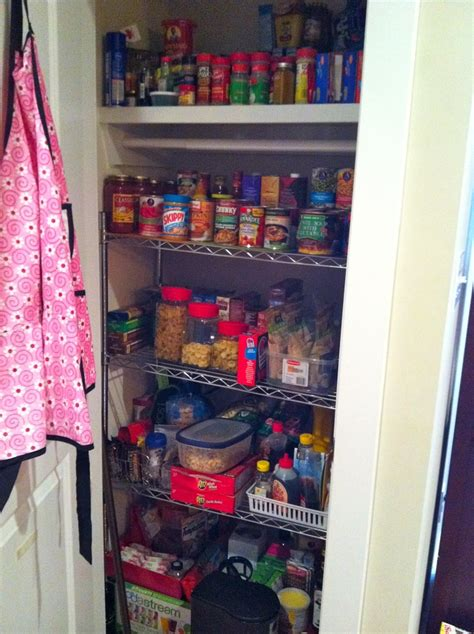 Cheap Pantry Shelving by Turn An Coat Closet Into A Much Needed Pantry
