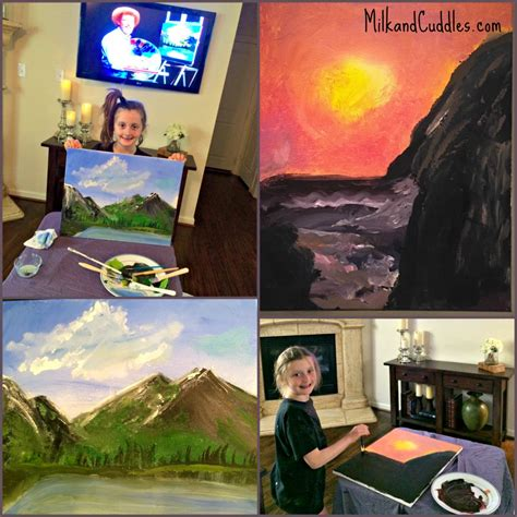 bob ross painting on canvas episodes tips for helping paint with bob ross everyday best