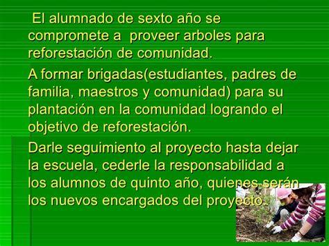 proyecto de la escuela proyecto comunidad verde desde la escuela