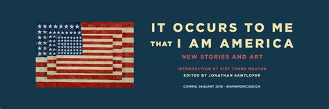 it occurs to me that i am america new stories and books it occurs to me that i am america touchstone books