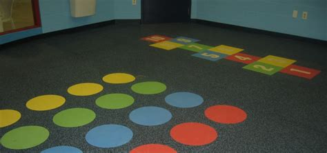Recycled Rubber Flooring by Dinoflex 174 Rubber Flooring Continental Flooring Company
