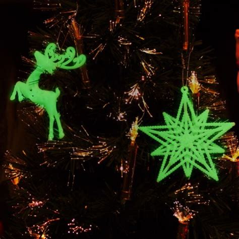 glow tree decorations