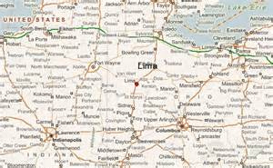 Lima Ohio Map by Lima Ohio Location Guide