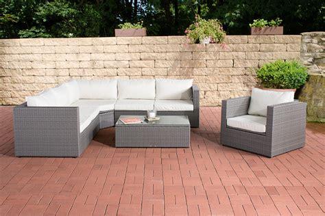 polyrattan sofa mit stauraum rattan lounge set tibera gartenm 246 bel set polyrattan
