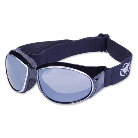 global vision eyewear eliminator cf black silver frame