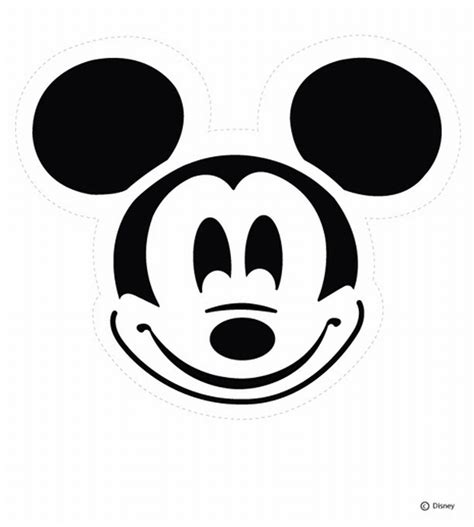 Mickey Mouse Pumpkin Template free pumpkin carving stencils connection
