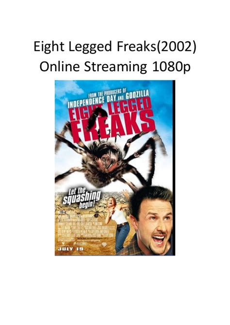 streaming film action comedy eight legged freaks 2002 online streaming 1080p romantic
