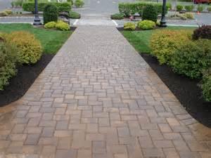 paver sidewalk ideas