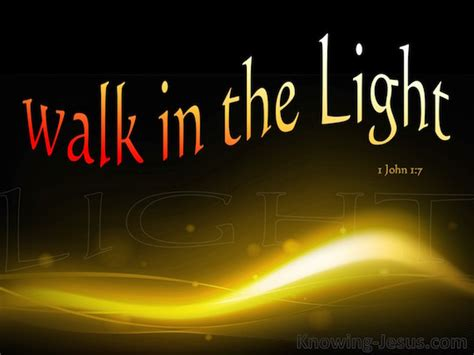 Walk In The Light by Stunted Growth Daily Devotional