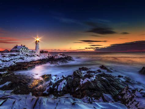 lighthouse ln portland maine united states vo atlantskiot