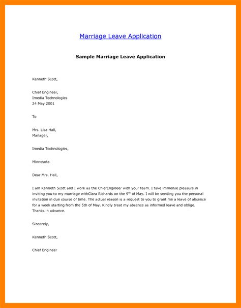 9 how to write an application letter for leave