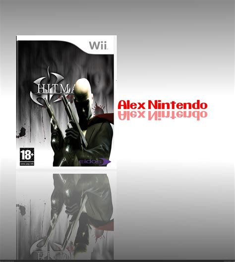 hitman contracts wii box art cover  alex nintnd