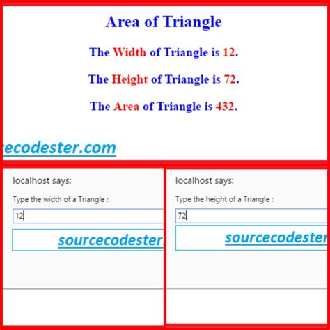 free programming source codes to all triangle pattern in java how to get area of the triangle using javascript free