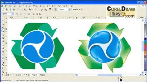 tutorial corel draw x4 filetype pdf re free video tutorials converting a 2d logo to a 3d