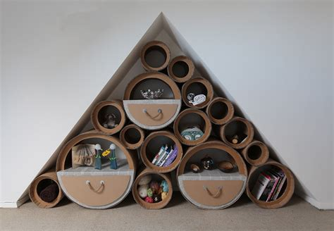 home decor using recycled materials our greener future turns food waste and cardboard into