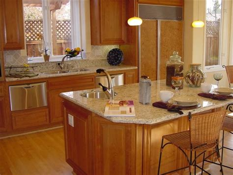 granite kitchen island with seating granite kitchen