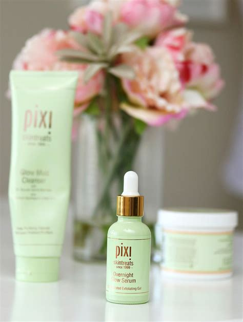 overnight glow serum 1 01oz the summer of skin care glycolic acid goodness with pixi