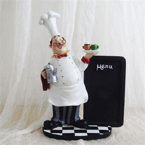 Chef Statue For Kitchen by Chef Kitchen Chalk Board Table Top Statue Bistro
