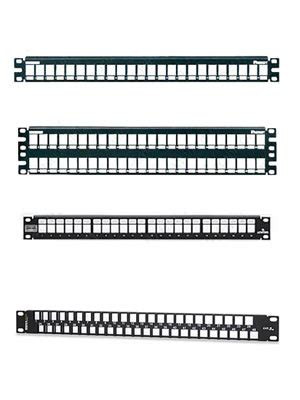fiber optic visio stencils network patch panels from panduit leviton signamax