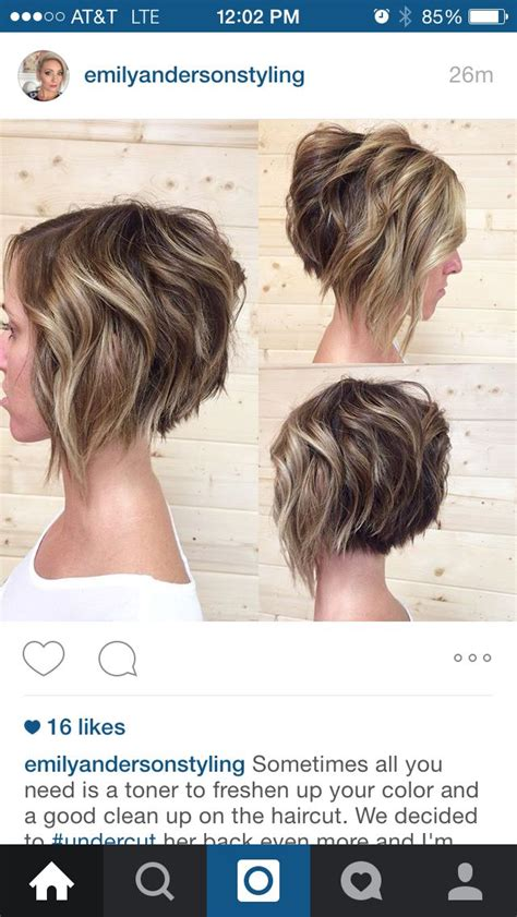 who do aline haircuts work for stacked aline bob hairstyles short pinterest aline