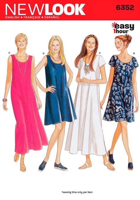 pattern dress pinterest simplicity 6352 this is the very firs pattern i ever
