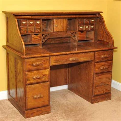 desk roll top oak pennsylvania collegeville 250