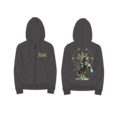 Sweater The Legend Of Breath Of The Hoodie breath of the sheikah eye and link at back hoodie for only 163 54 10 at